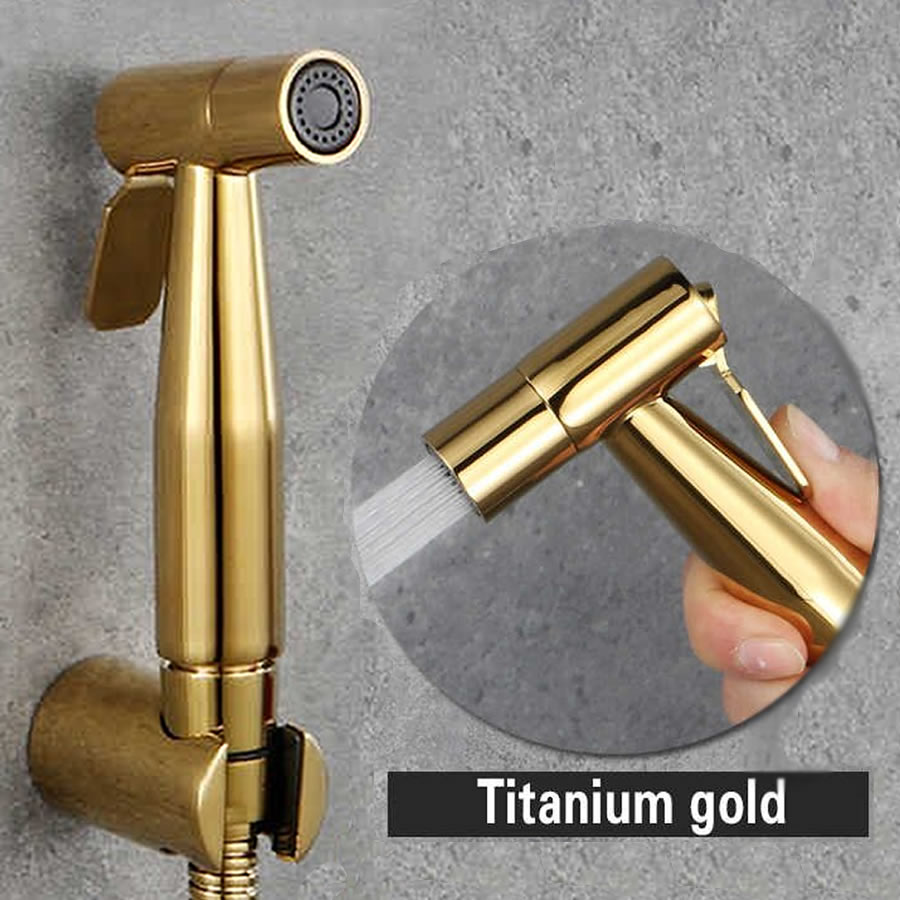 bidet spray gun gold color